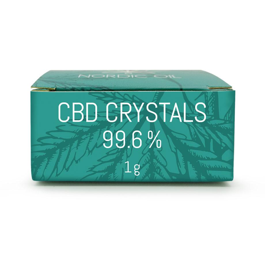 NYHET! CBD-kristaller (99,6% / 996mg CBD) (Ej översatt)