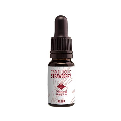 CBD E-liquid Strawberry 3%