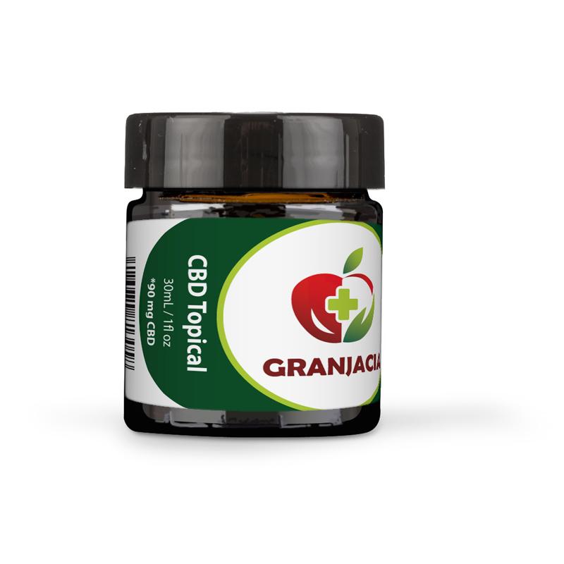 CBD Hemp Cream 30ml – Granjacia